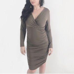Dresses & Skirts - Long Sleeve Midi